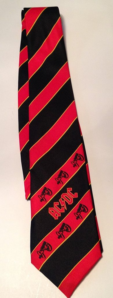 Red Striped Tie